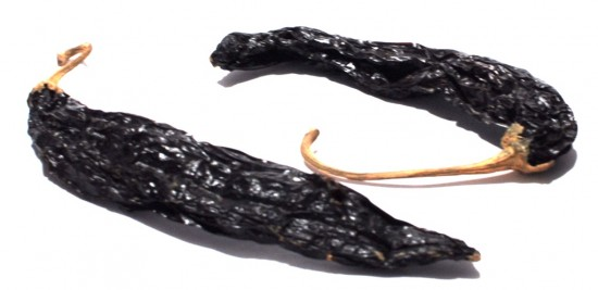 Pasilla Negro Chile Pods