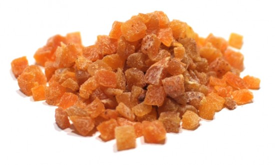 Apricot, Sulphured Diced