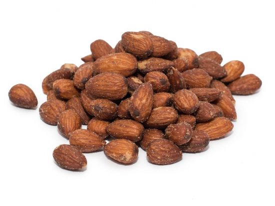 Organic Roasted & Salted Almonds in a Glass -Piccantino ...
