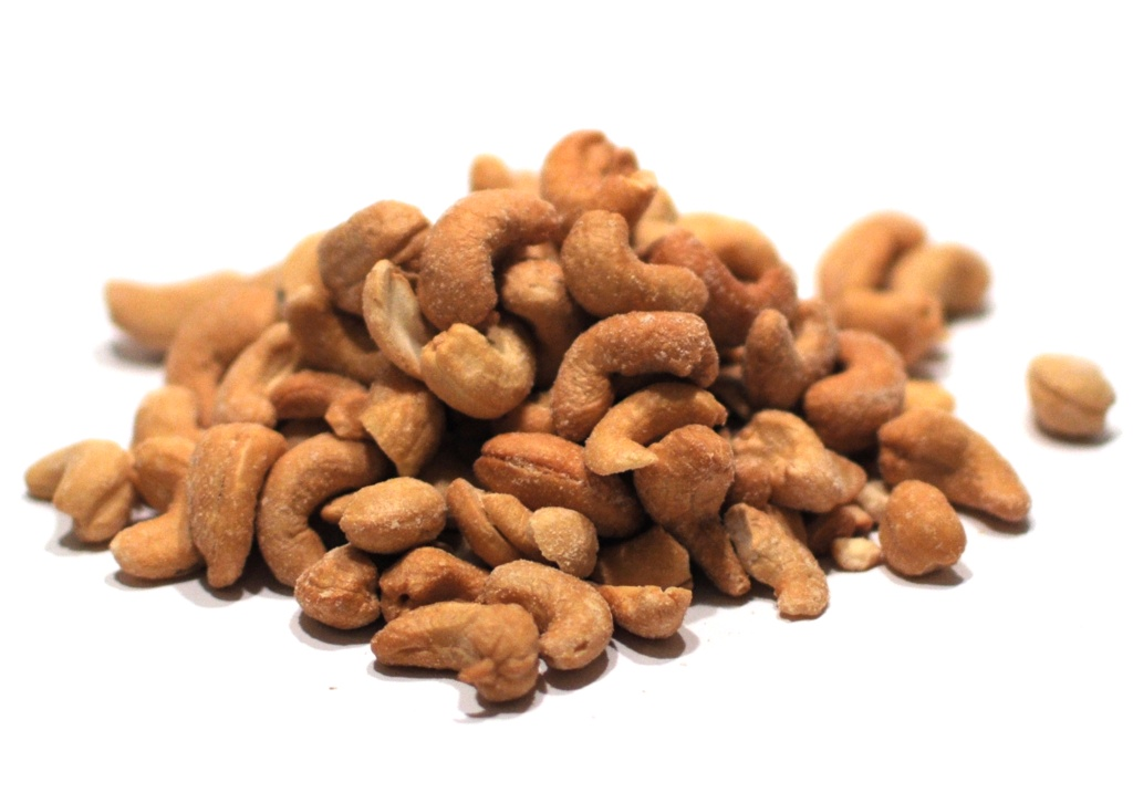 Whole Roasted Salted Cashews