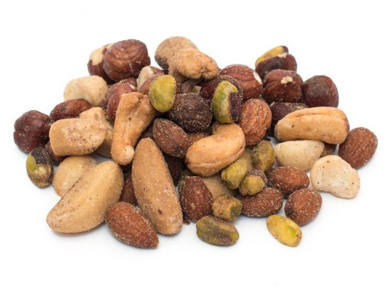 Deluxe Nut Mix, Roasted and Salted