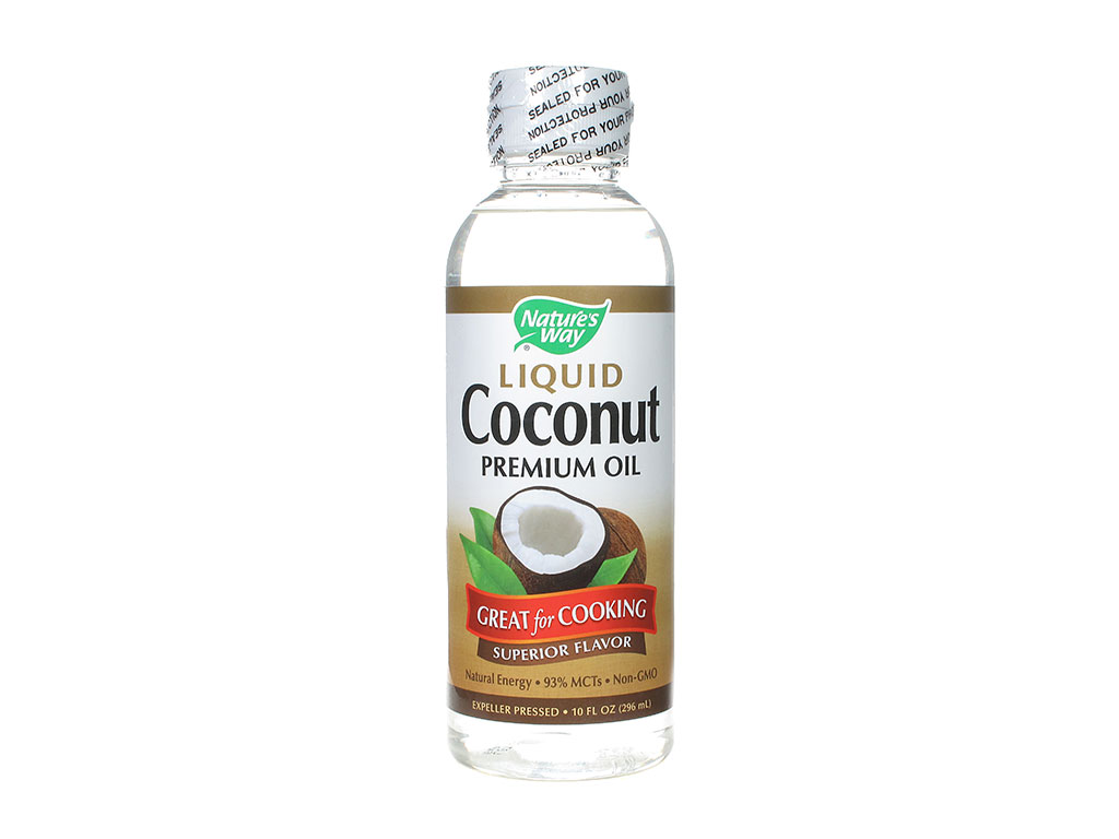 Coconut Oil, Liquid (20 fl oz bottle)