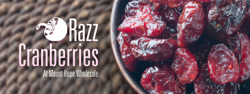 Buy Razz Cranberries in Bulk