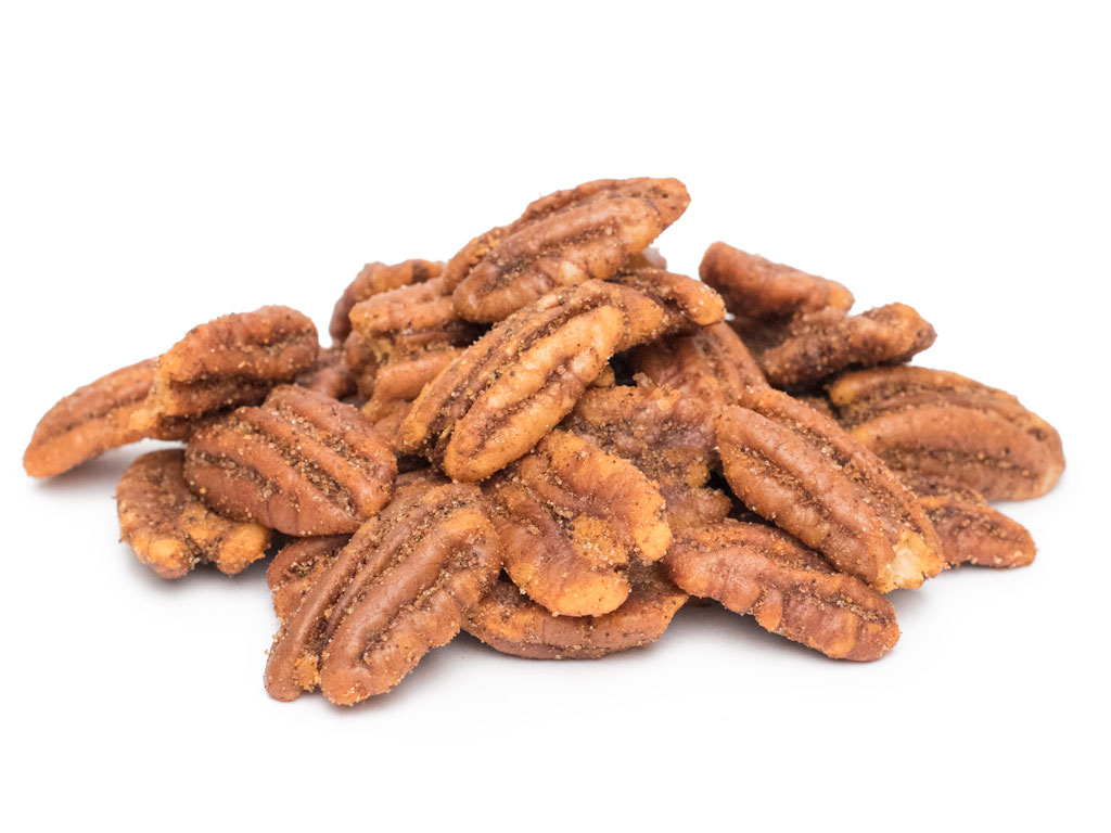 Mesquite seasoned Pecan Halves