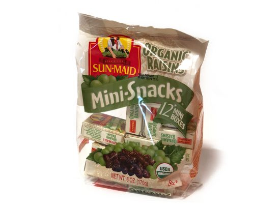 Raisin, Organic Snack Box
